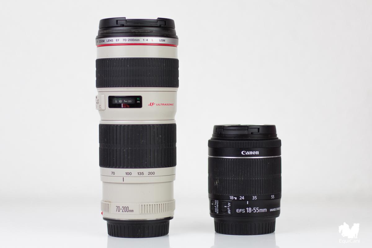 Mein Teleobjektiv für Bewegungsfotos - Canon EF 70-200mm f/4L USM